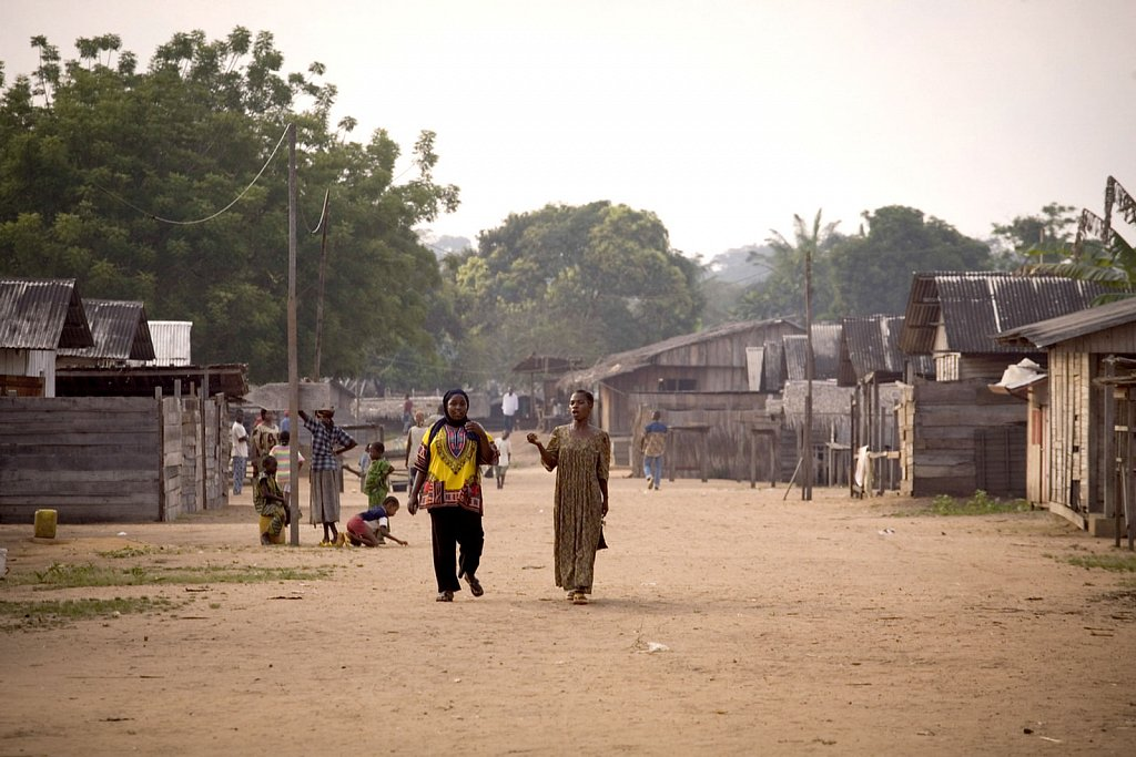 central african republic - the village